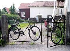 bicycle gate...This would be cool!