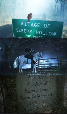 "Come to ""Sleepy Hollow"" Mondays on FOX!"