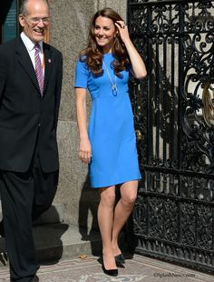 The Duchess of Cambridge visits The National Portrait Gallery's Road to 2012: Aiming High Exhibition