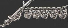 Heirloom Crochet - Vintage Crochet Stitches - DMC ❥Teresa Restegui http://www.pinterest.com/teretegui/❥ foundation stitch