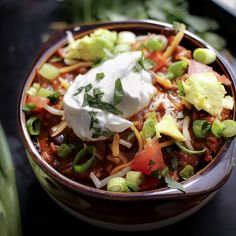 28 Insanely Delicious Chili Recipes To Try This Winter : #recipes #chili #healthy #winterfood