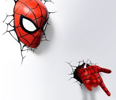 #Spiderman Hand 3D Deco Light http://thegadgetflow.com/portfolio/spiderman-hand-3d-deco-light/?utm_content=buffer2f26d&utm_medium=pinterest&utm_source=bufferapp.com&utm_campaign=buffer Perfect for all ages! #superheroes