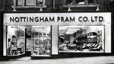 Nottingham City, Vintage Pram, Local History, Prams, Nostalgia, Childhood, Shops, England, Memories
