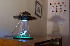 Sweet Light Design Alien Abduction Lamp