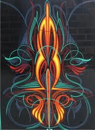 See our exciting images. Visit the webpage to learn more on rv transport cost. Click the link for more information Car Pinstriping, Pinstriping Designs, Pinstripe Art, Garage Art, Custom Paint Jobs, Airbrush Art, Lowbrow Art, Wow Art, Car Painting