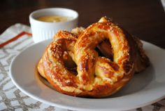 Ballpark Style Soft Pretzels, this pitcher's go-to concession stand food!