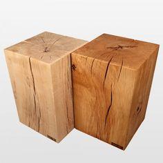 hier zijn de blokken te koop als tafel