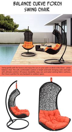 Top Ten Seats You'll Want To Lounge On Your Deck This Spring