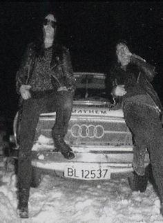 Euronymous & Necrobutcher