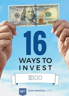 how to invest 100 dollars or small amounts of money