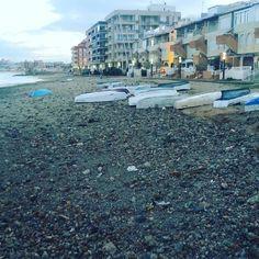 #beach washed away in #LaMata #spain