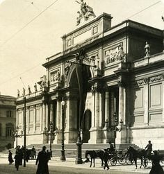 Italy Roma Palace of Expositions old NPG Stereo Photo 1900