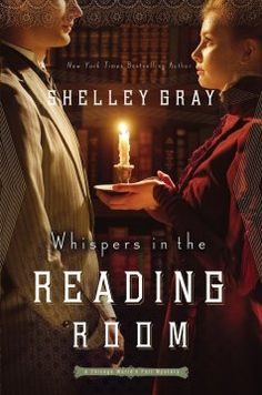 Review of Whispers In The Reading Room by Shelley Gray by @papertapepins