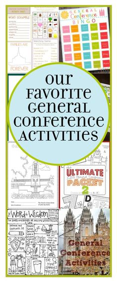 Our Favorite LDS General Conference Activities | Cee Me Be