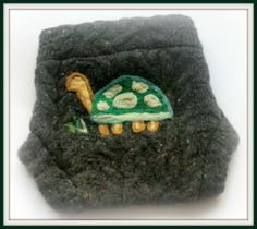 Size Medium Recycled Sweater Wool Diaper Cover by WillowWithLove, $17.00