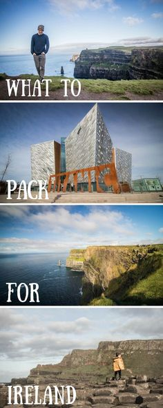 Everything you need to pack for an epic trip to Ireland! Through the rain and sunshine we have your travel covered.