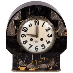 French Art Deco Mantle Clock | From a unique collection of antique and modern clocks at http://www.1stdibs.com/furniture/more-furniture-collectibles/clocks/