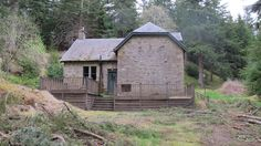 Many buildings on the estate starred in the TV series, like this one that was dressed as Glenbogle's pub, The Ghillie's Rest. Monarch Of The Glen, The Glenn, Scotland, Rest, Cabin, Explore, Country, House Styles, Places
