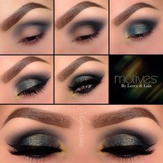 We love this look for a night out by the amazing #elymarino using Motives cosmetics!