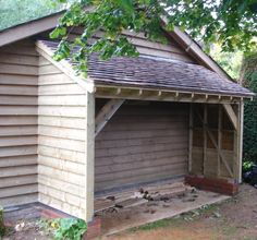 Shed Plans - on the side of the garage for garden tractor, quads... - Now You Can Build ANY Shed In A Weekend Even If You've Zero Woodworking Experience!