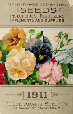 1911 - Adams seed book : - Biodiversity Heritage Library