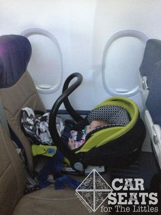 how to travel with infant in lap