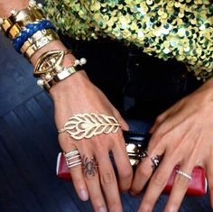 WEBSTA @ collection18nyc - Style inspirator Leandra Medine showing us how there is NEVER such things as too many #Accessories..Shop link in bio for our selection of Jewelry.#Jewelry #Rings #Bracelet #Ring #Bracelets  #Necklace #Choker #Inspiration #FreeSprit #RoberRose #Fashion #Personality #Love #Beautiful #Cute #Fun #Style #NYC #Happy #Girl #Design #Style #ME #Confidence #Weird #Difference #Unique #art