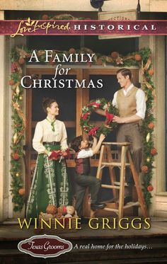 Winnie Griggs - A Family for Christmas / https://www.goodreads.com/book/show/17738319-a-family-for-christmas?from_search=true&search_version=service