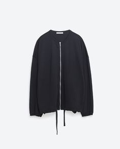 Image 8 of FLOWING BOMBER JACKET from Zara