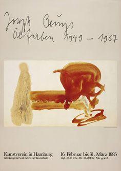 Joseph Beuys 'Joseph Beuys. Kunstverein, Hamburg', 1985 © DACS, 2014