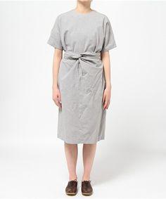 ヘザーグレーのダンガリーラップドレス(ワンピース)|COSMIC WONDER(コズミックワンダー)のファッション通販 - ZOZOTOWN