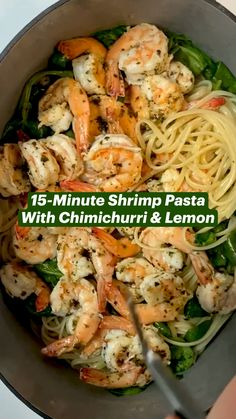 Meals With Shrimp, Healthy Shrimp Pasta, Shrimp Dinner Recipes, Easy Shrimp Recipes, Healthy Seafood Recipes, Seafood Pasta Recipes, Healthy Dishes, Simple Recipes, Healthy Meals