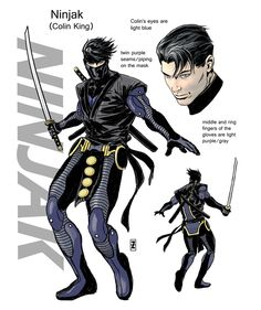Newsarama.com : NINJAK Returns With New Look, Valiant Teases Series