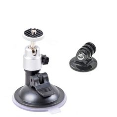 """Windshield Suction Cup 1/4""""Ball Head Mount Holder for Vehicle Car Camera DVR GPS for Gopro Hero 4/3+/3 Camera Accessories #Affiliate"""