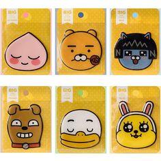 KakaoKakao Friends Character Big point Face Epoxy Stickers official goods comic #kakaofriends