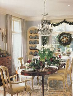 southern accents magazine christmas   Neoclassical needlepoint rugs for sale, Federal needlepoint rugs for ...