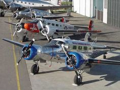 Twin Beech 18 Reference. See how electra-like it is?