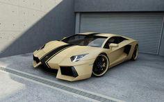 custom Aventador