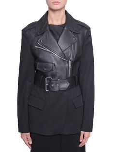 Alexander Wang NERO LEATHER JACKETS. Shop on Italist.com