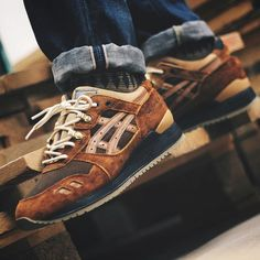Asics Gel Lyte 3 Carhartt Custom (by aintfussed)