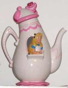 Disney Alice in Wonderland Teapot