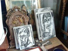 CLAUDE DE NOIR - www.atelier-claude-de-noir.com Atelier D Art, Claude, Places To Visit, Painting, Black People, Hobbies, Painting Art, Paintings, Painted Canvas