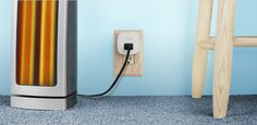 An outlet that automatically turns off power once your device has been charged to save energy.