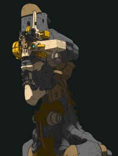 ArtStation - Robots, Ivan Laliashvili
