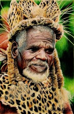 Zulu man/photo by Hava Hegenbarth Religions Du Monde, Cultures Du Monde, World Cultures, We Are The World, People Around The World, Wonders Of The World, Black Is Beautiful, Beautiful People, Image Positive