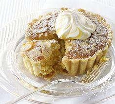 Lemon & almond tarts recipe