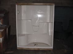 shower units one piece one piece fiberglass shower unit