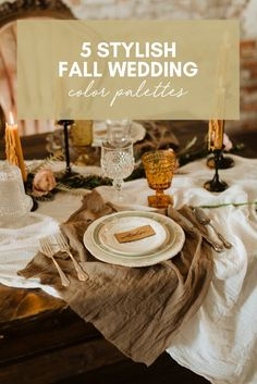 Five Stylish Fall Wedding Color Palettes Theia Bridal, Neutral Wedding Colors, Fall Bridesmaid Dresses, Wedding Blog, Wedding Ideas, Wedding Trends, Winter Bride, Fall Wedding Invitations, Color Palettes