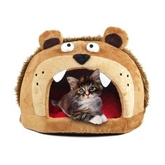 Fun Lion Head Design Pet bed     Deal of the day >>>   http://amzn.to/2a4Hfbe