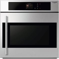 60CM Multifunction side opening oven from Fulgor Milano. Some features include: 15 cooking modes, Automatic cooking with Pre-selected customizable recipes (weight, cooking time and temperature), BOOST to rapidly reach the pre-selected temperature, CLEAN assisted cleaning cycle. Find out more at www.fulgor-milano.co.uk
